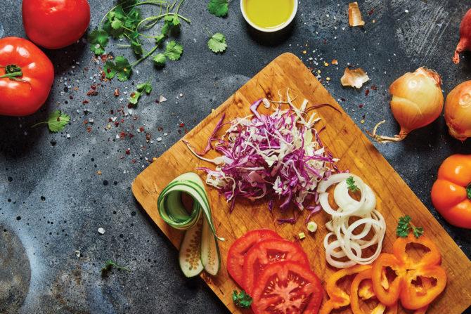krojenie warzyw